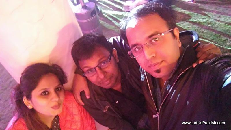 Yogita Aggarwal, pradeep Kumar and Ankit Chugh, Bloggers Photo