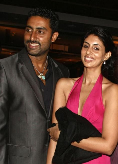 Abhishek Bachchan with Shweta Bachchan Bollywood brother and sister