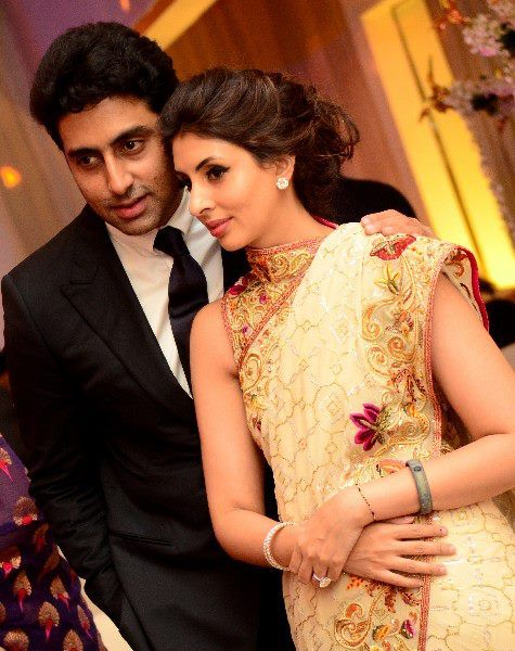 Abhishek Bachchan with Shweta Bachchan brother and sister