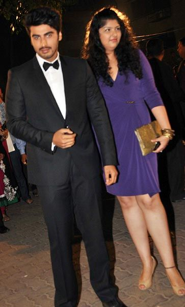 Arjun Kapoor and Anshula Kapoor Bollywood Siblings