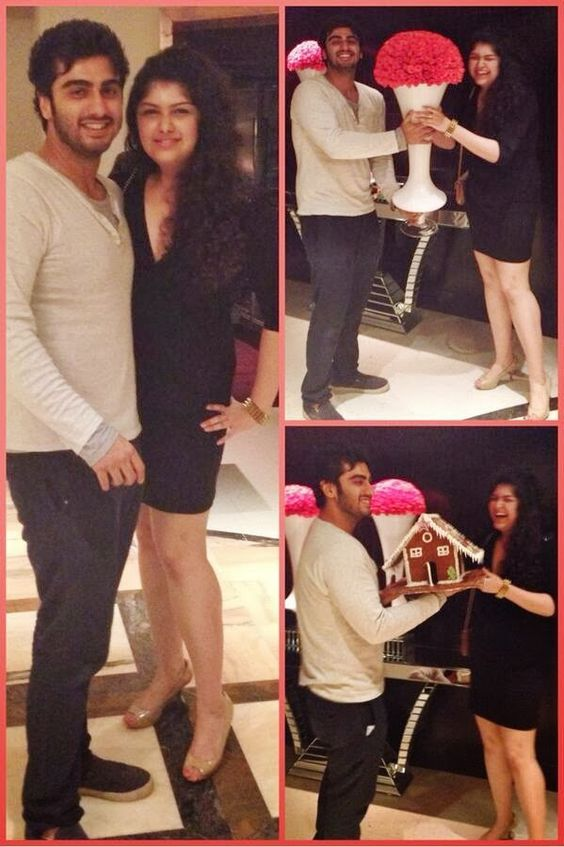 Arjun Kapoor with sis Anshula Kapoor, Siblings of Famous Bollywood