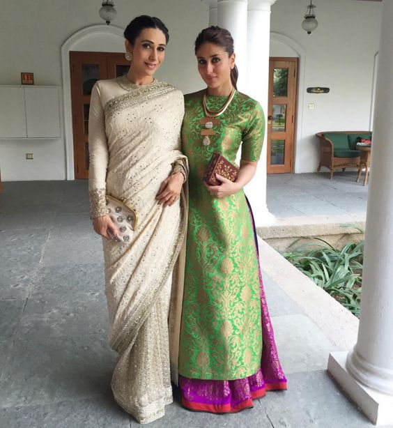 Bollywood Star Sisters Karishma Kapoor and Kareena Kapoor Khan