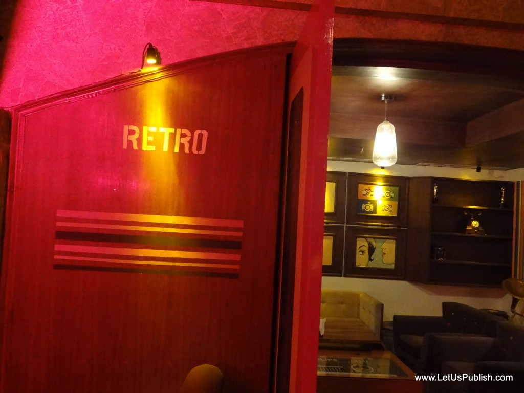 Cafe Public Connection Bar Cp New Delhi Retro Theme