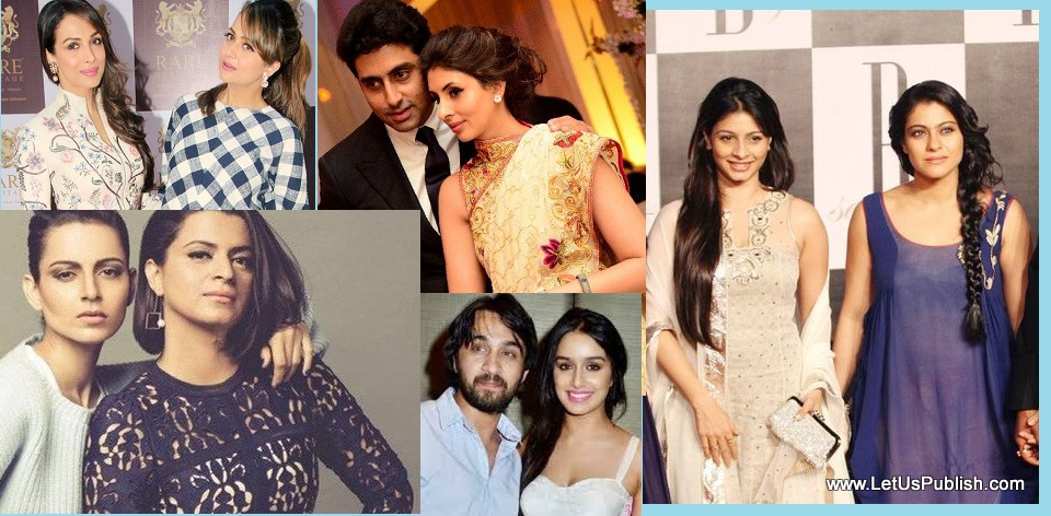 Top 5 Television sisters and Bollywood brothers - YouTube