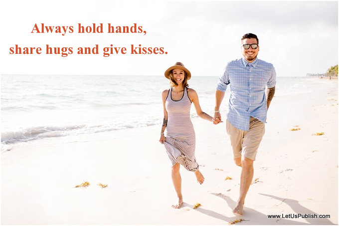 Couple Holding hands In love