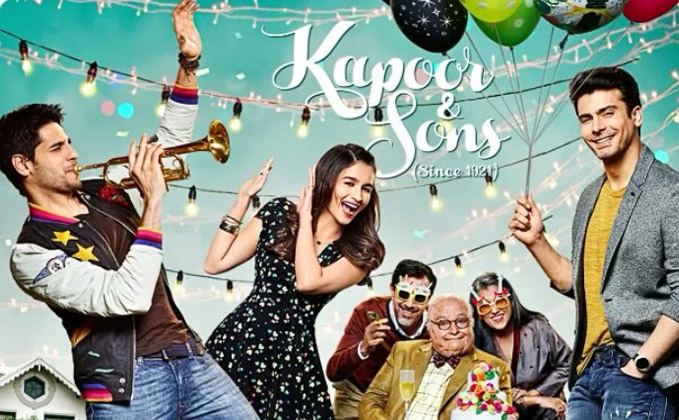 Family Movie - Kapoor And Sons