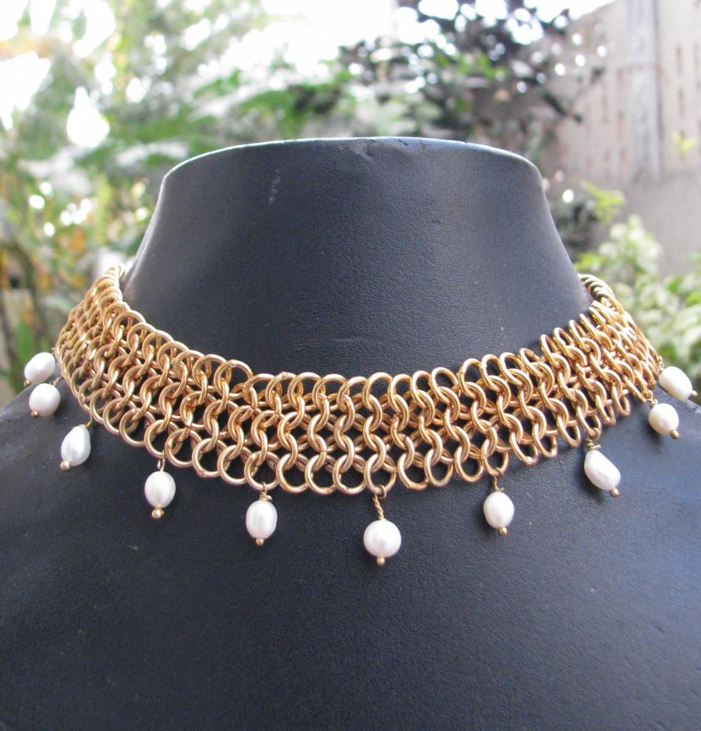 Gharaz Designer Neckpiece Jewel inspired from Rajasthani Culture