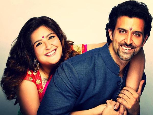 Hrithik& sunaina - Bollywood Siblings Photos