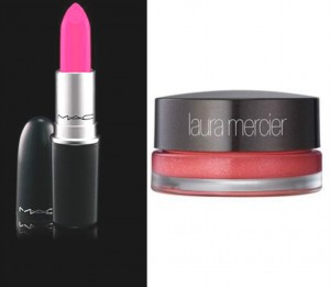 MAC Candy Yum Yum, Laura Mercier lip stain