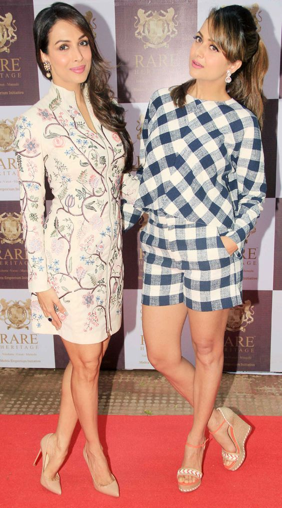 Malaika Arora Khan and Amrita Arora Bollywood Sisters