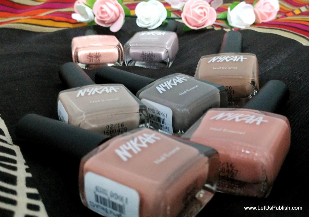 Nykaa New Nail Paints