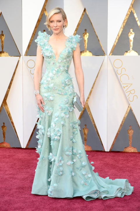 Oscar nominee Cate Blanchett ruled the red carpet in elan