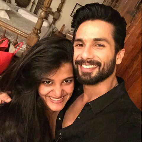 Shahid & Sanah Bollywood brother and sister