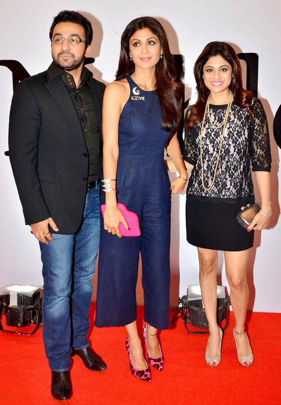 Shilpa Shetty Kundra and Shamita Shetty Pics Together