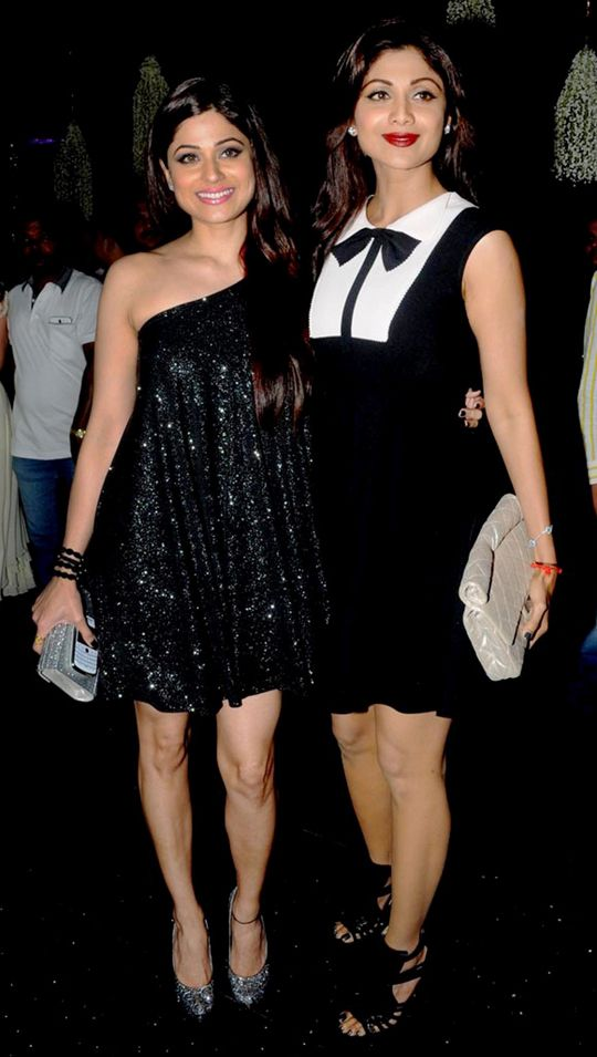 Shilpa Shetty Kundra and Shamita Shetty Sisters