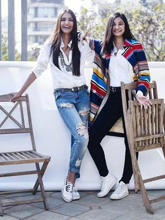 Sonam and Rhea Kapoor Pics Together
