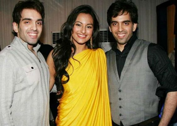 Sonakshi & Luv Kush Bollywood brothers and sisters