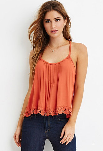 Strip top latest forever21 top