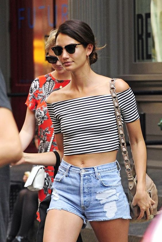 How to Wear an Off Shoulder Top in multiple ways