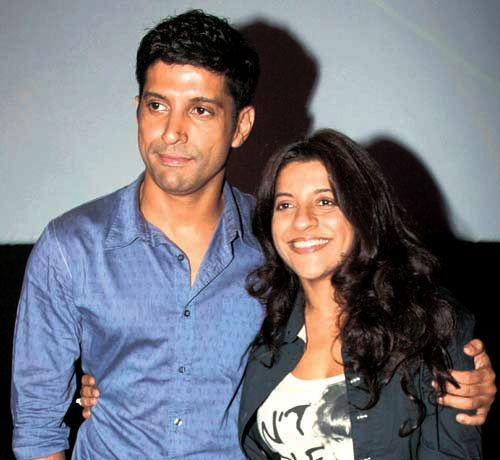 Zoya and Farhan Akhtar Pic