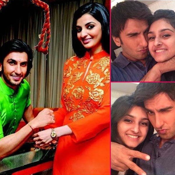 ranveer-singh & sis , Siblings of Famous Bollywood