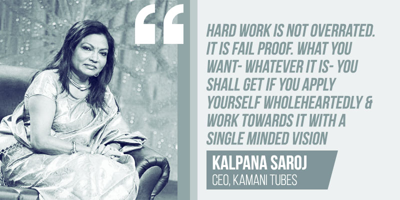 slumdog millionaire, Kalpana Saroj is the CEO of $112 million business