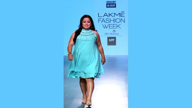 Bharti Singh at LFW 2016