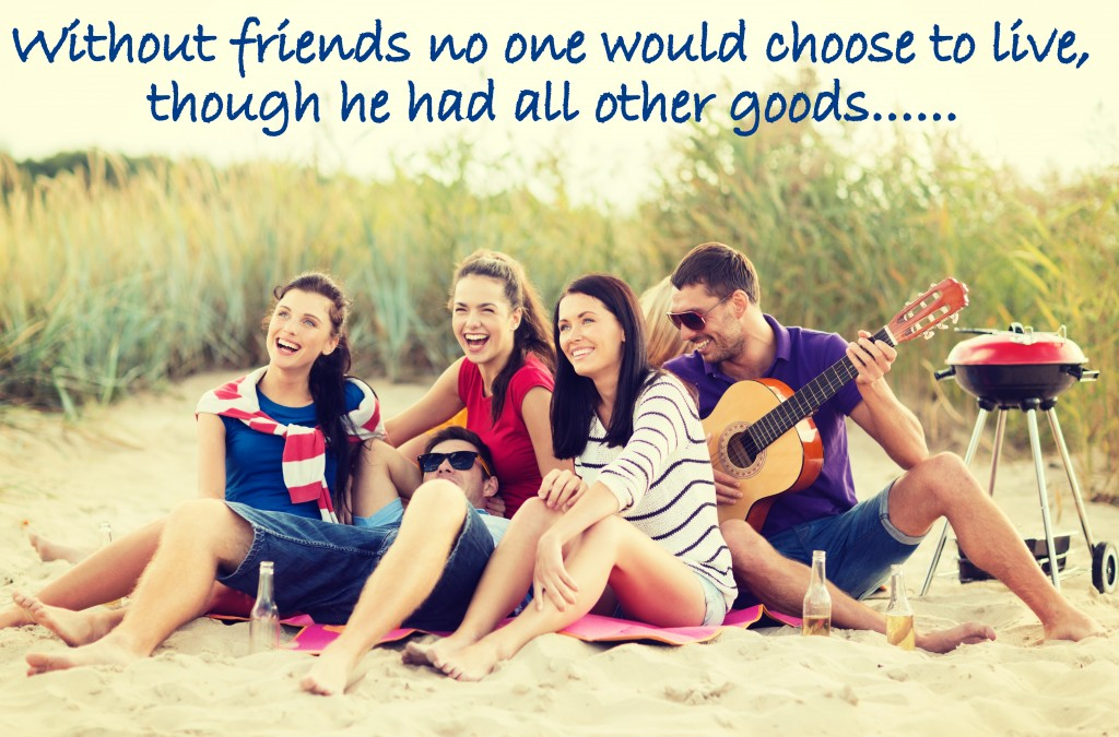 College friends beach party wallpaper , friendship quotes