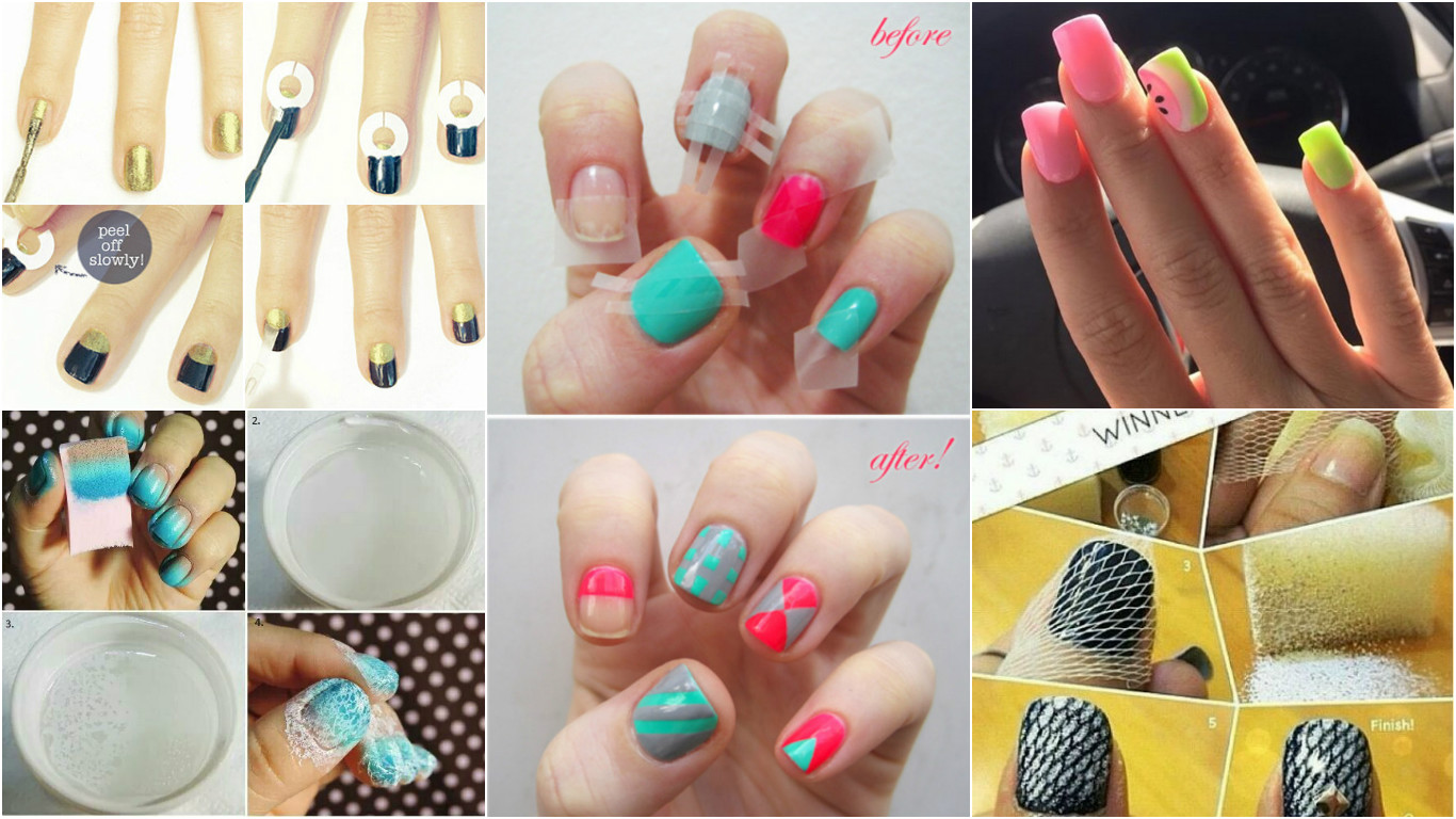 Diy Cool And Easy Nail Art Ideas For Summers Let Us Publish