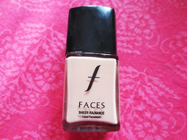 Faces Sheer Radiance Foundation