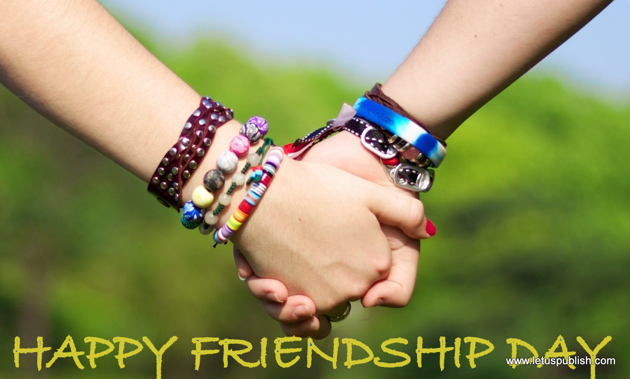 Friendship day bands wallpaper