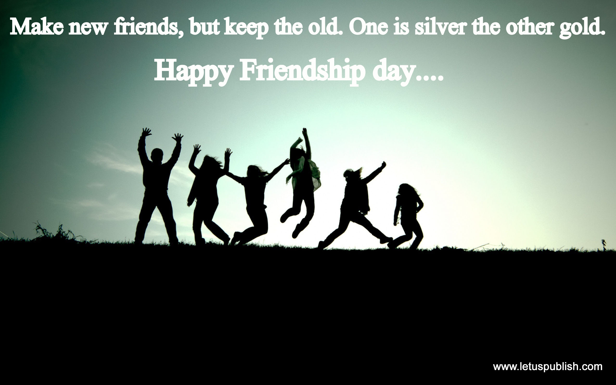 Friendship day desktop wallpaper