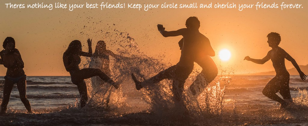 Fun on beach friends wallpaper