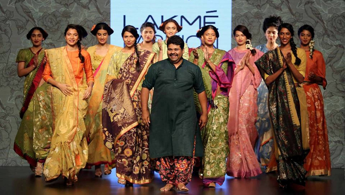 Gaurang Shah collection at LFW 2016