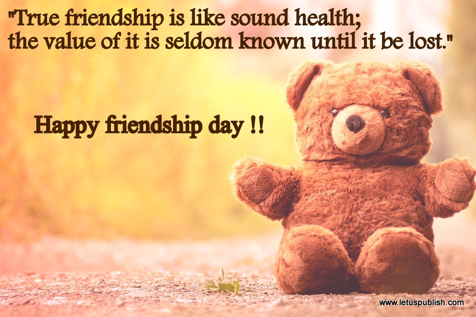 Happy friendship day free download hd wallpaper with quotes