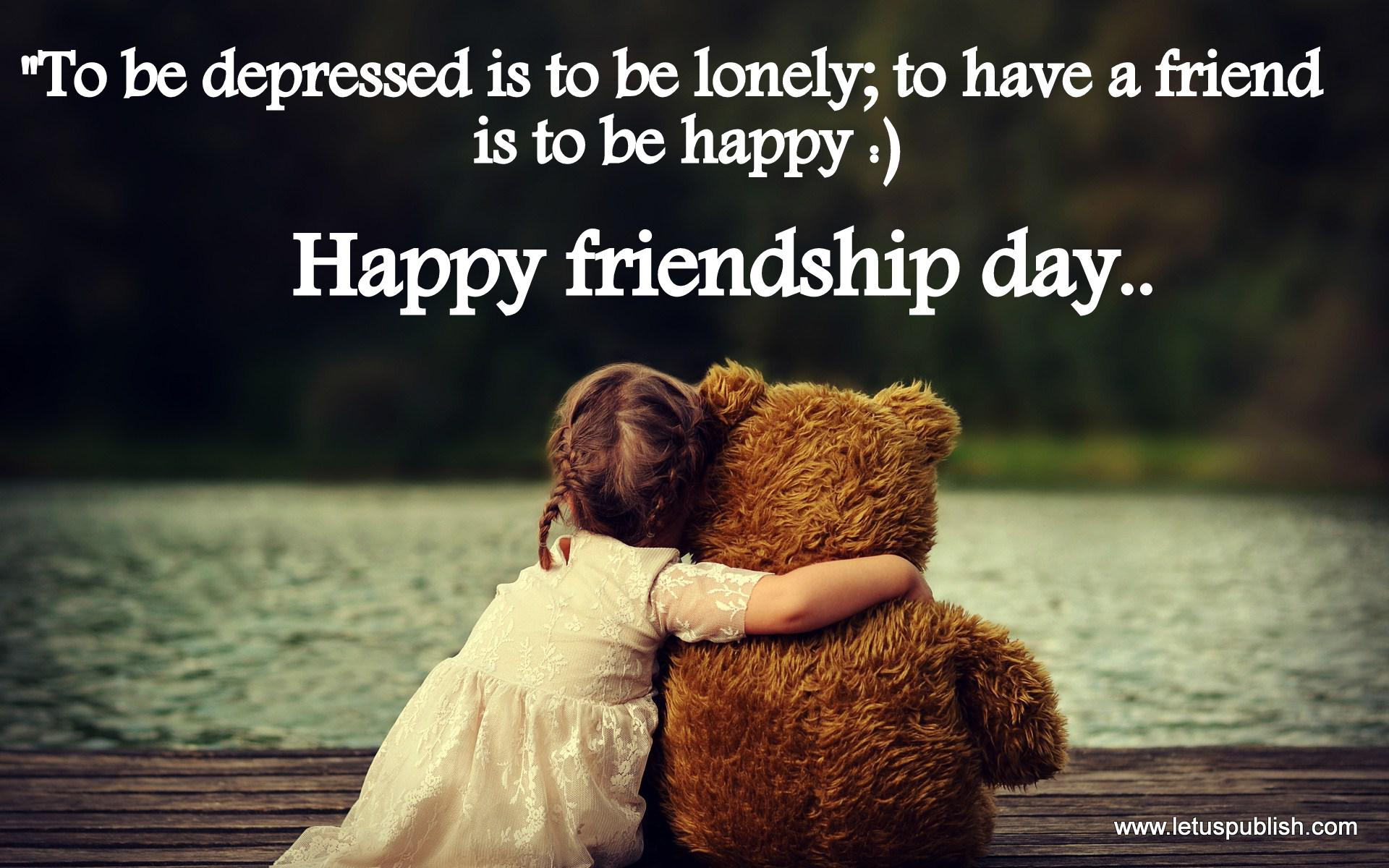 Happy Friendship Day Latest Hd Wallpaper For Whatsapp Download