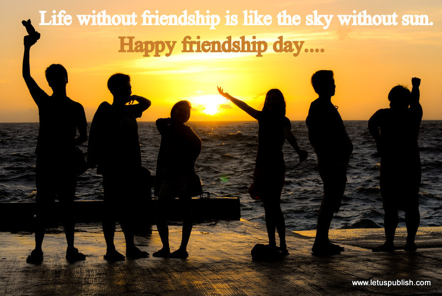 Happy friendship day wallpaper for best friends
