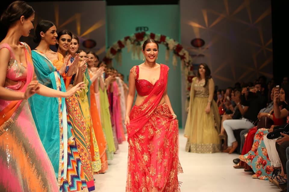 Models Walking on India Runway Week Season 6 . pic