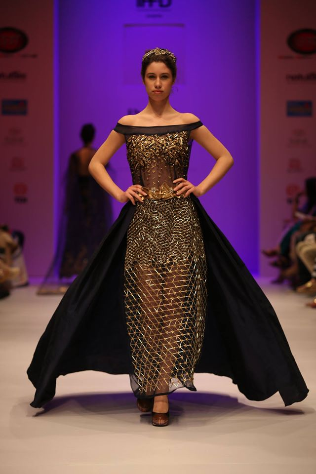 Models Walking on India Runway Week Season 6 for Rahul Kapoor