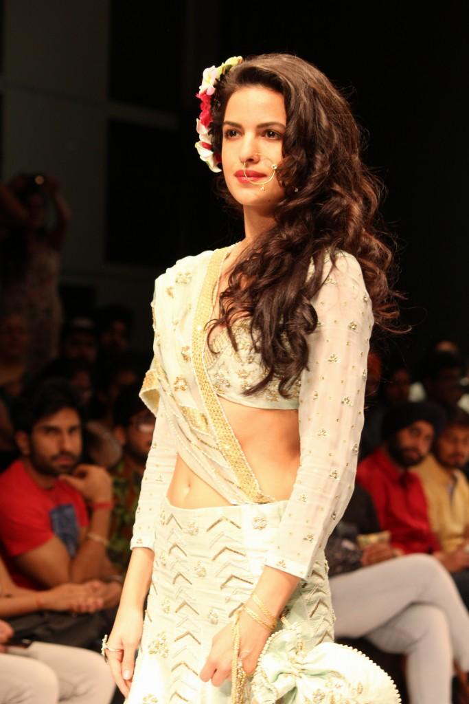 Natasha stankovic showcased the collection of Gauri Couture