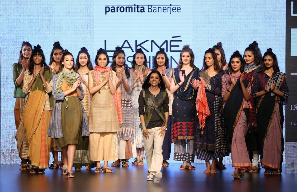 Paromita Banerjee at LFW 2016