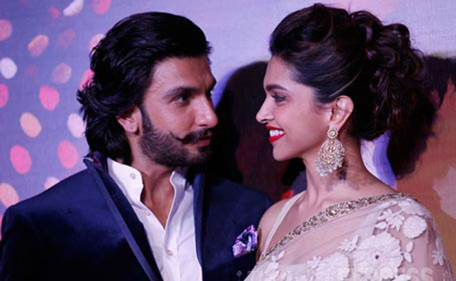 Ranveer and Deepika Romance connection