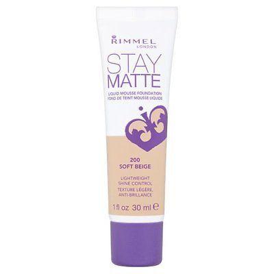 Rimmel Stay Matte Liquid Mosse Foundation