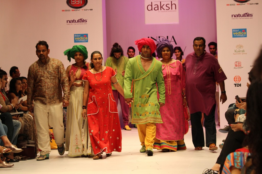 Suman Kundu, Sandeep Narwal, Sunil dabas has walked the ramp for DAKSH label