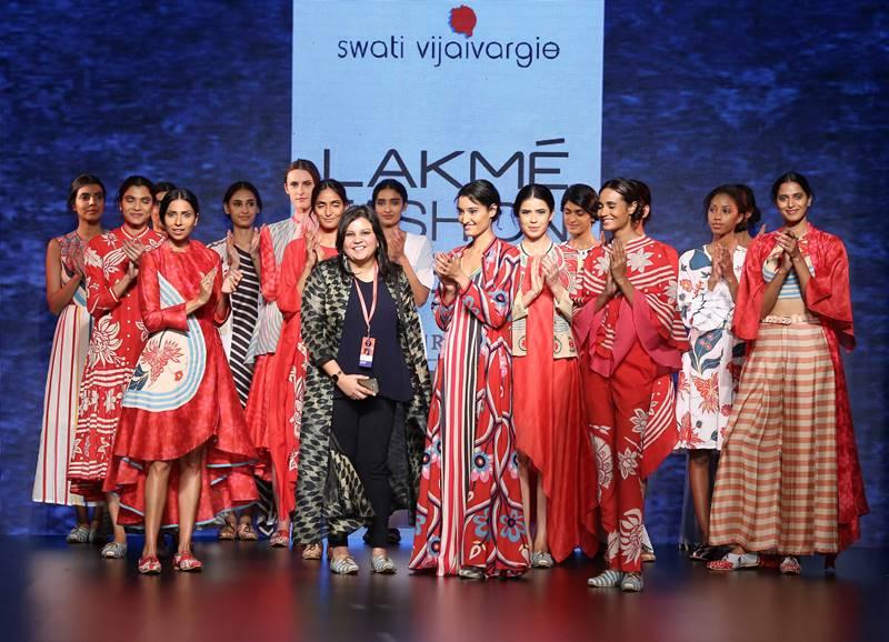 Swati Vijaivargie with at LFW Summer Resort 2016