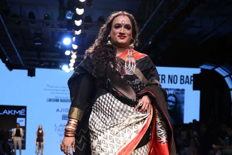 Transgender Laxmi at LFW 2016