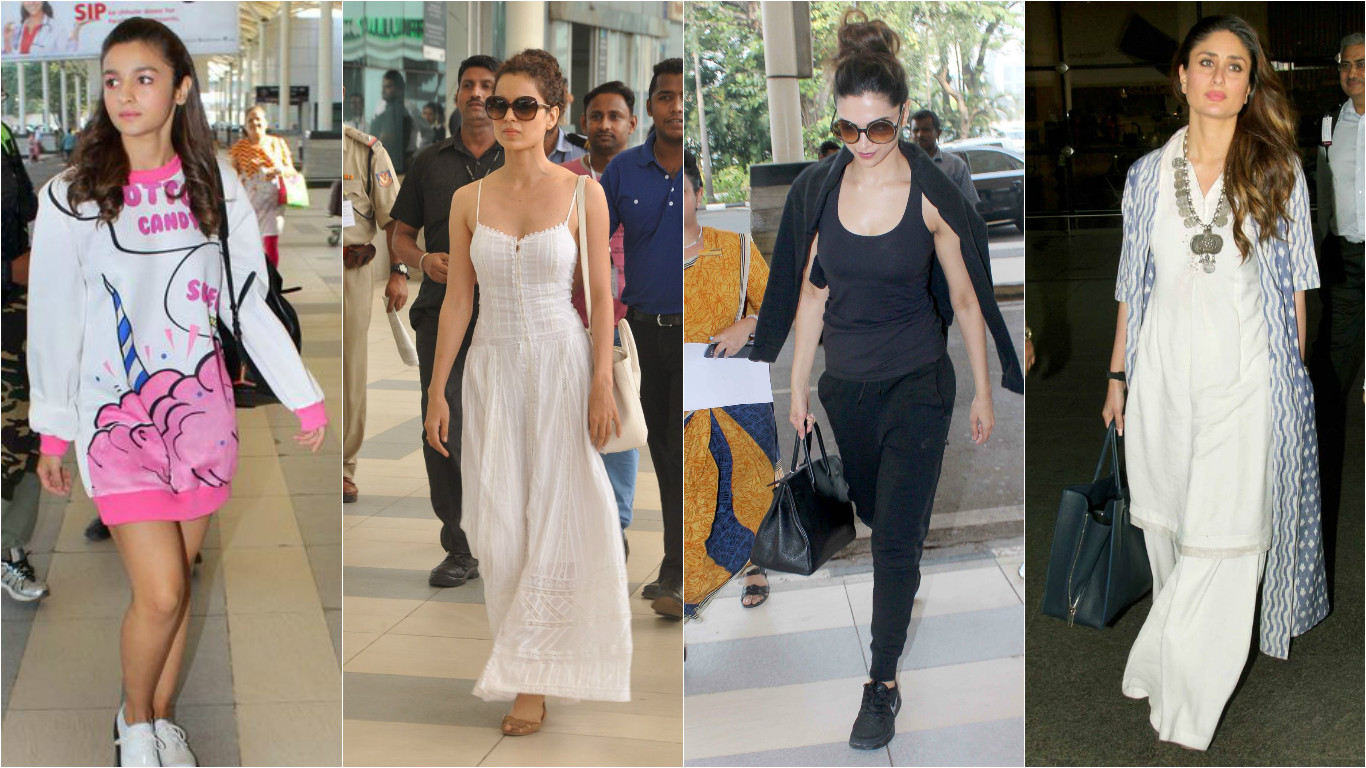 bollywood actresses airport styles - travel fashion ideas - let us