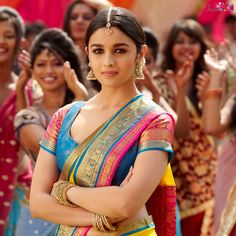 Alia Bhatt in saree- Petite body frame