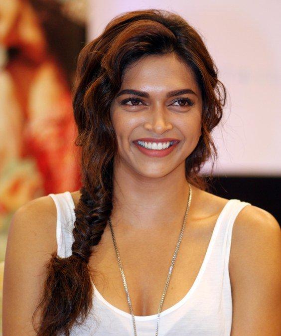 Deepika Padukone's best hairstyle