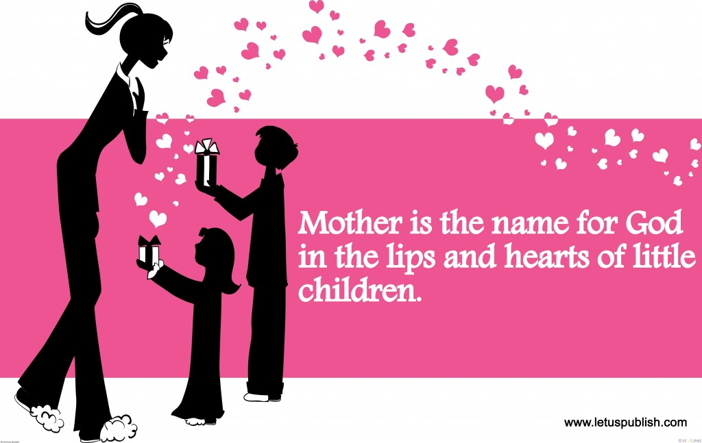Happy Mother's day wallpaper - Mothers Day Quotes images in English